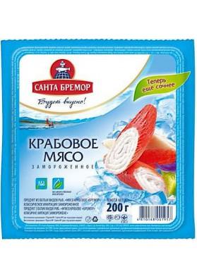 Мясо крабовое Бремор 200г 1/30шт замор.SB