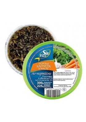 Mорская капуста в масле, по-корейски 300г 1/6 SibFisch
