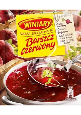 PL Winiary Концентр.Суп Борщ красный 49г 1/20