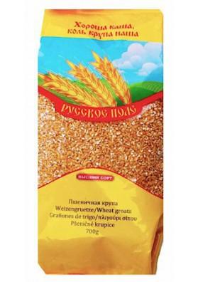 Крупа пшеничная 700г 1/10 RusPole