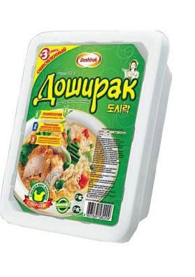 Лапша лоток Курица с перцем 90г 1/24 Doschirak