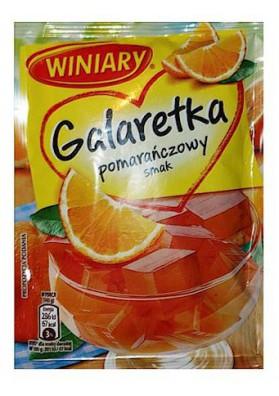 PL Желе с апельсиновым вкусом 71г 1/22 Winiary