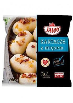 PL Клёцки картофельные с мясом 450г 1/10 Jawo замор.