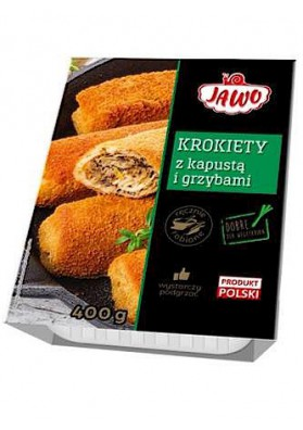 PL Крокеты с грибами-капустой 400г 1/8 Jawo замор.