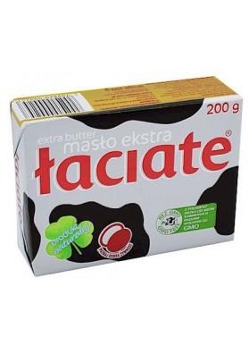 PL Масло сливочное Laciate Extra 82%жирн.200г 1/8 Mlekpol