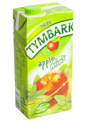 PL Напиток Яблоко-Мята 1л 1/12 Tymbark