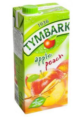PL Напиток Яблоко-Персик 1л 1/12 Tymbark