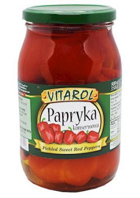 PL Паприка консервированная 900г 1/6 VITAROL