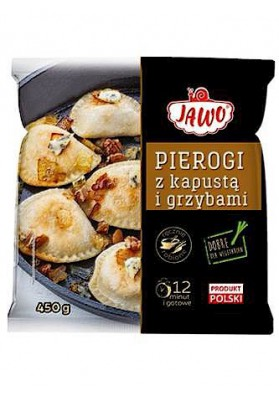 PL Пироги с капустой/грибами450г 1/10 Jawo замор.