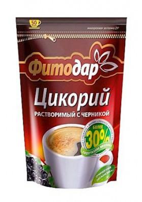 Цикорий Фитодар растворимый с черникой 100г 1/12