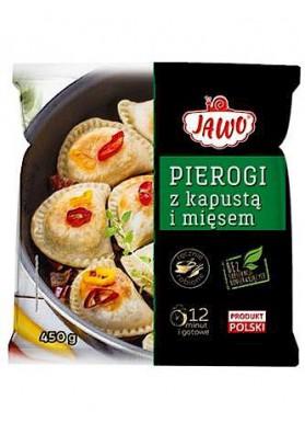 PL Пироги с капустой/мясом 450г 1/10 Jawo замор.