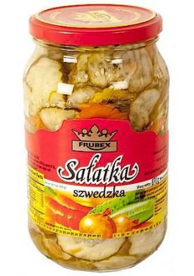 PL Салат овощной Шведский 900мг/870г 1/8 Frubex