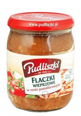 PL Свинина в томатном соусе 500г 1/4 Pudliszki