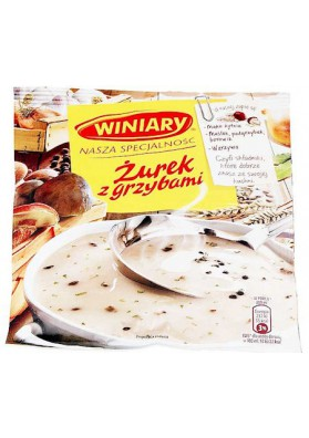 PL Суп с грибами Журек 49г 1/30 Winiary