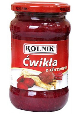 PL Хрен со свеклой 370мл 1/6 Rolnik