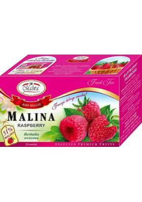 PL Чай Малина 20пак.х2г 1/12 MALWA
