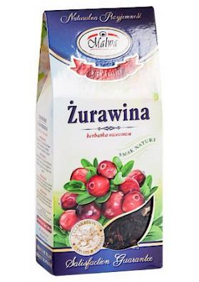 PL Чай фруктовый Клюква 80г 1/12 MALWA