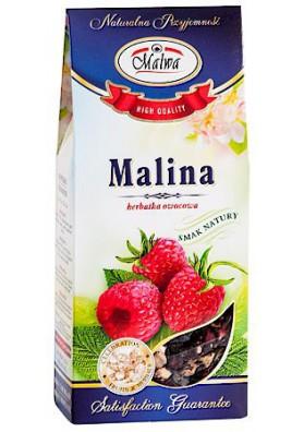 PL Чай фруктовый Малина 100г 1/12 MALWA