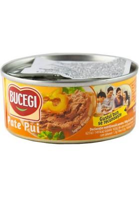 RO Bucegi Паштет из куриной печени 120г 1/6