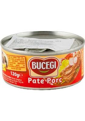RO Bucegi Паштет из свиной печени 120г 1/6