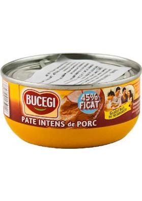 RO Bucegi Паштет из свиной печени 45% печени 120г 1/6