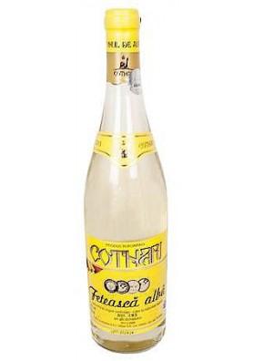 RO Вино Feteasca Alba белое, полусладкое 0,75л 1/12 Cotnari