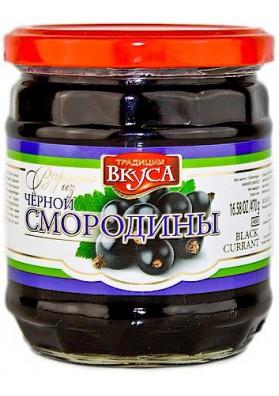Варенье чер.смородина 500г 1/12 LUX