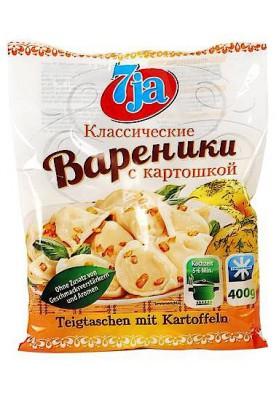 7ja Вареники с картошкой 400г 1/14 замор.