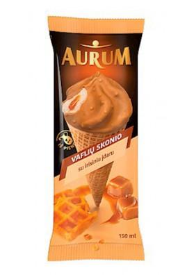 Aurum Мороженое со вк.вафли/карамели, ирисовой начинкой  150мл 1/24