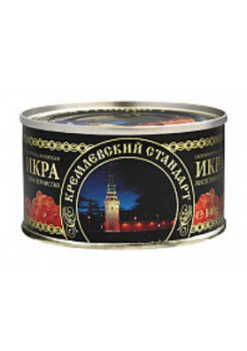 Caviar de salmon 36x140gr KREMLEVSKIY STANDART