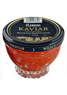 Caviar de salmon (keta) 12x150gr cristal LEMBERG