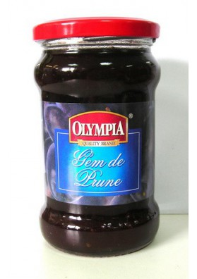 Mermelada de ciruela 12x340gr OLIMPIA