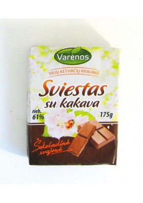 Mantequilla de chocolate 175gr VARENOS