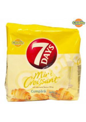 Mini croissants con crema de champan 185gr 7DAYS
