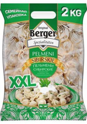 Pelmeni  SIBIRSKIE 2kg BERGER