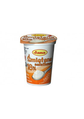 Crema agriada 18%grasa 400gr JANA