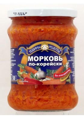 Ensalada de zanahoria picante coreana 12x460gr TR