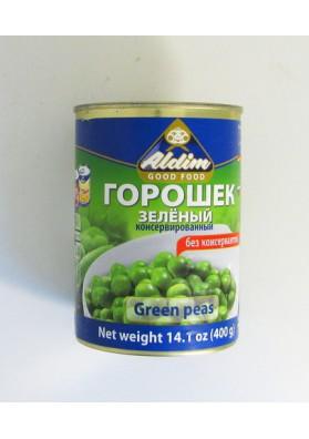 Guisante verde concervado 20x400gr ALDIM