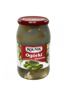 Pepinos fermentado 900ml x6 ROLNIK
