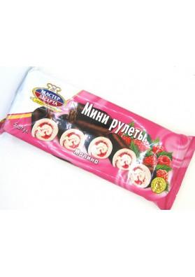 Mini rolada sabor frambuesa 5x35gr MD
