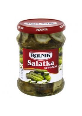 Салат из огурцов  ШВЕДСКИЙ 6х450гр ROLNIK