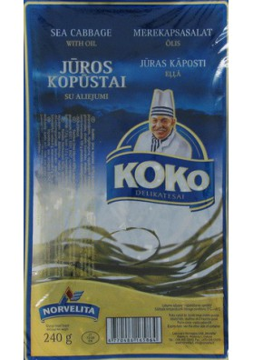 Berza marina en aceite 6x240gr KOKO