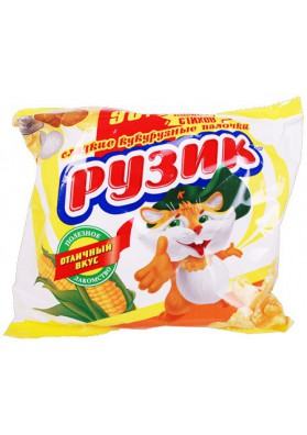 Gusanitos de mais dulce clasik 90gr RUZIK
