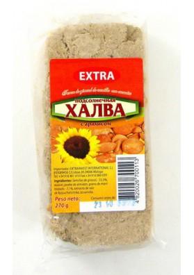 Turon de pipas de girasol con cacahuete 270gr EXTRA