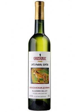 Vino blanco semidulce  ALAZANSKAYA DOLINA 11%alk.0.75L