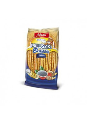 Palitos de pan con semillas de amapola 60g AKSAM