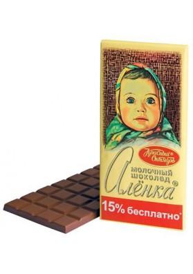 Chocolate de lecheALENKA 200gr KO