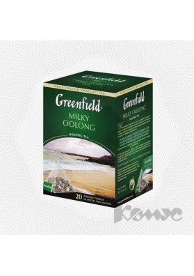Te GreenfieldPYRAMIDAS MILKY OOLONG 20x1.8gr