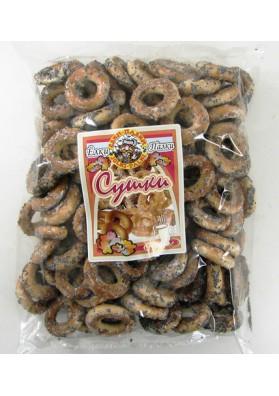 Rosquillos glaseado con semillas de amapola 16x400gr ELKI-PALKI