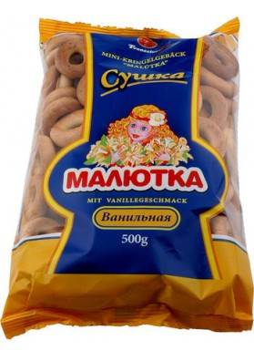 Rosquillas mini sabor vanilla 500gr FRANZELUTA